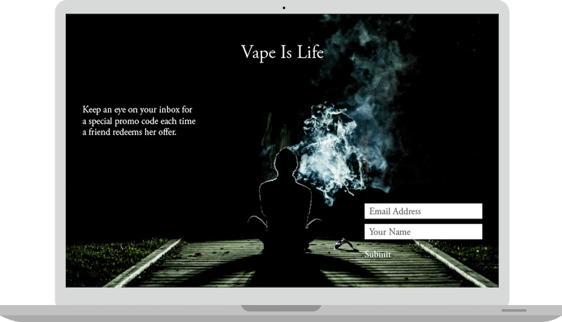 Vaporizer Referral Program